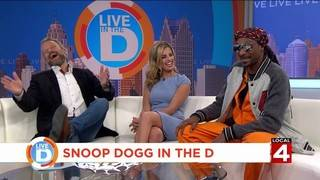 What did Snoop Dogg say to make Jason Carr laugh so hard?