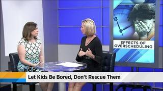 Over-scheduling kids and its dangers