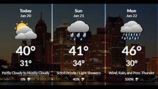 Metro Detroit weather: Saturday night chilly with overnight lows in 30s