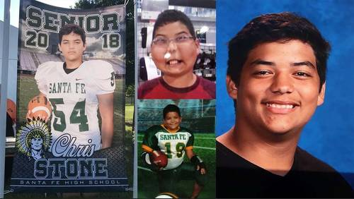 'He died a man': Sister of Santa Fe HS shooting victim advocates for safer schools