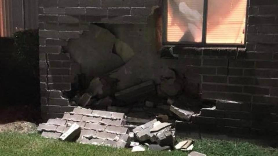 crash damages pasadena apartment