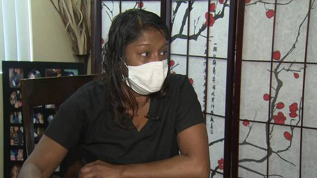 Stacy Williams opens up about mold in apartment that left family sick