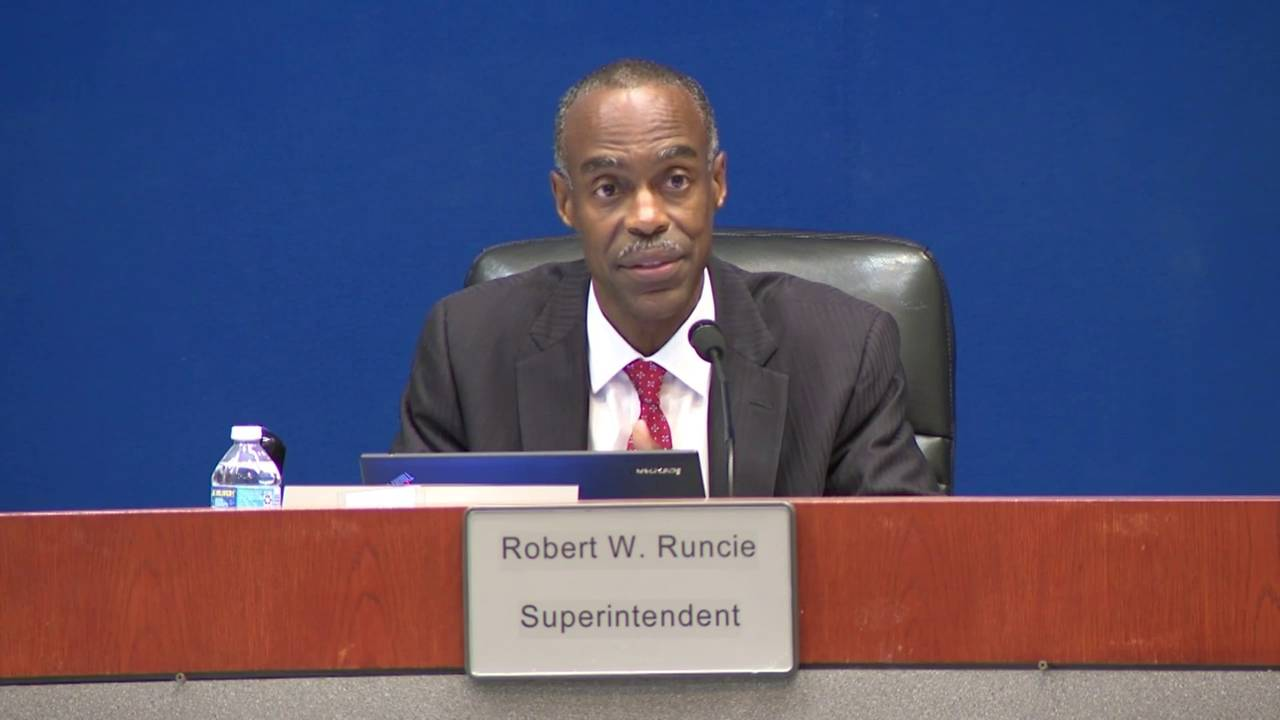 BCPS Superintendent Robert Runcie speaks about backlash over PROMISE program 20180508204305.jpg