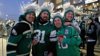 Fans behaving badly: Patriots, Eagles bring out worst in fans