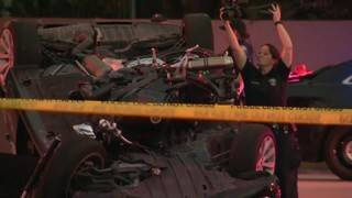 Motorcyclist dies after colliding with car in Hollywood