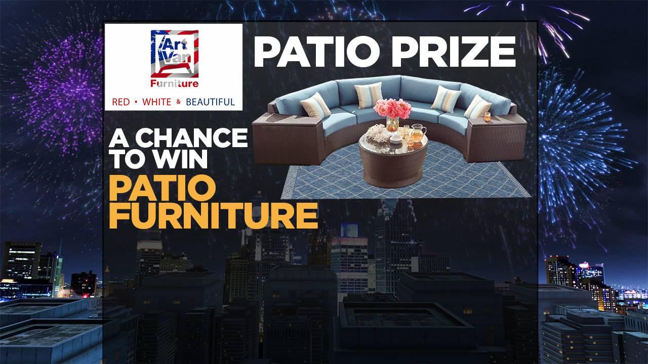 - Art Van Furniture: Win A Patio Set!