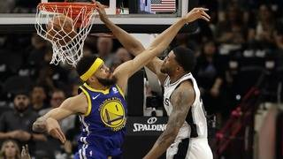 Emotional evening not enough to lift Spurs past Warriors in Game 3