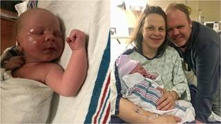 Michigan couple gives 14th son creative middle name
