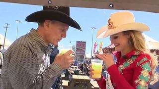 VIDEO: David Sears samples all the food options at SA Rodeo