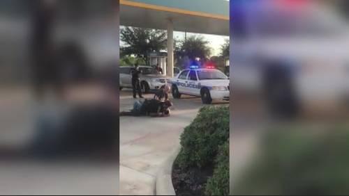 Dangerous arrest near Greenspoint area caught on camera