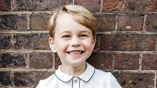 New photo of Prince George released to mark his 5th birthday