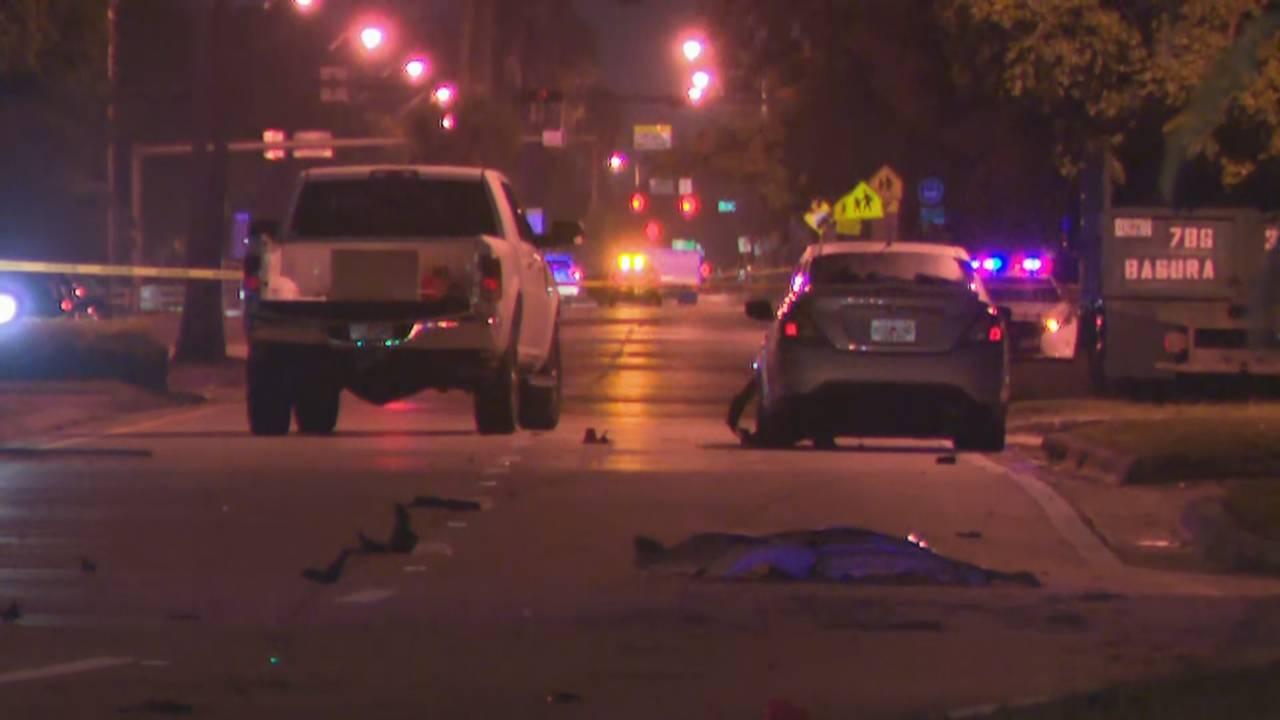 Hialeah police-involved shooting scene