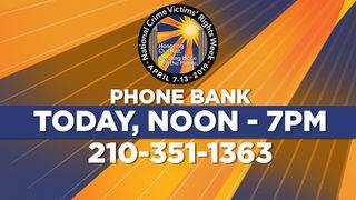 KSAT to host phone bank to connect victims of crimes to resources