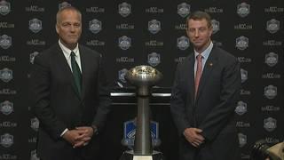 ACC Championship game coaches praise QBs