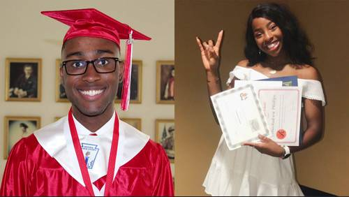 Paving the way: 2 local students are first African-American valedictorians in school history