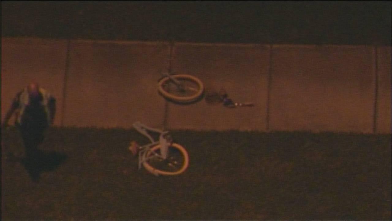 Bike split in half in pembroke pines