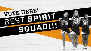 4Frenzy: Best Spirit Squad Top 10 finalists
