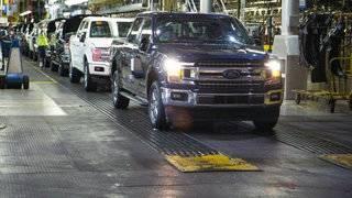 Ford recalls 2M pickup trucks&#x3b; seat belts can cause fires