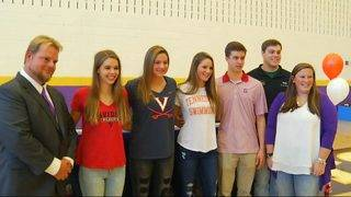 Patrick Henry signs five to Division I schools