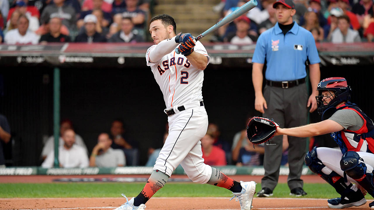 Alex Bregman 2019 hr derby getty