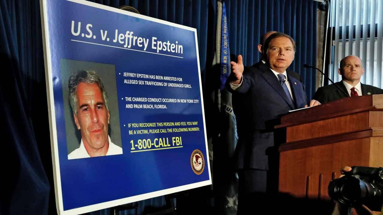 Geoffrey Berman announces charges against Jeffrey Epstein