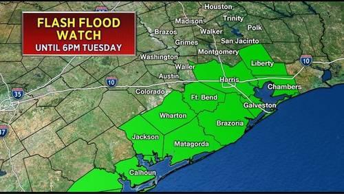 WEATHER ALERT: Flash flood watch canceled