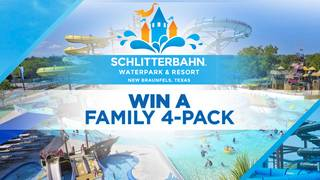 Win a Family 4-Pack to Schlitterbahn!