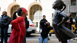 You can buy a reproduction of 'Fearless Girl' for $6,500