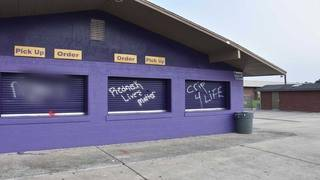 Teens accused of spray-painting racial slurs, graffiti at Lake Weir High School