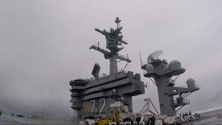 In the Navy: Life on an aircraft carrier