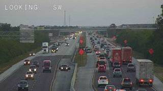 Motorcycle crash causes traffic back-up on I-95 in Brevard, officials say