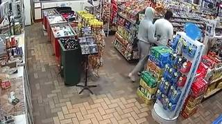 Violent video shows serial robbers at work, Houston police say