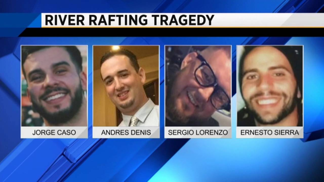 Victims killed in rafting accident