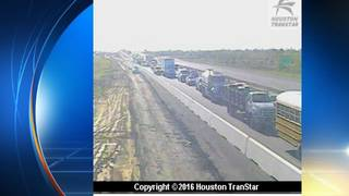 Accident shuts down Highway 290 westbound at Kickapoo