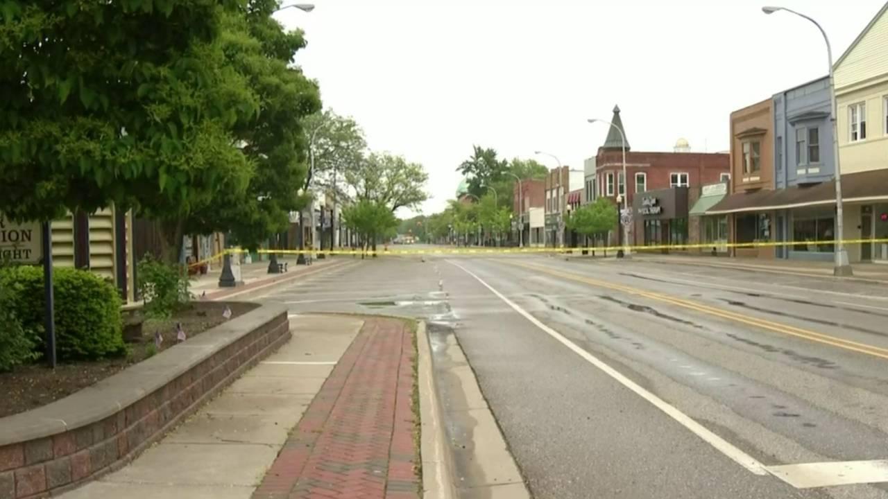 Downtown Lapeer evacuated gas leak 3