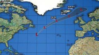 Oscar Becomes A Hurricane-Force Post-Tropical Cyclone