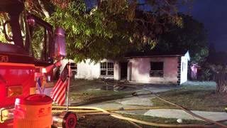 Children set fire to abandoned home in Deerfield Beach, officials say