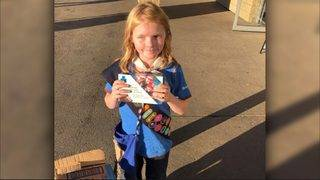 Canadian Girl Scout cashes in on long lines for pot, sells out cookies