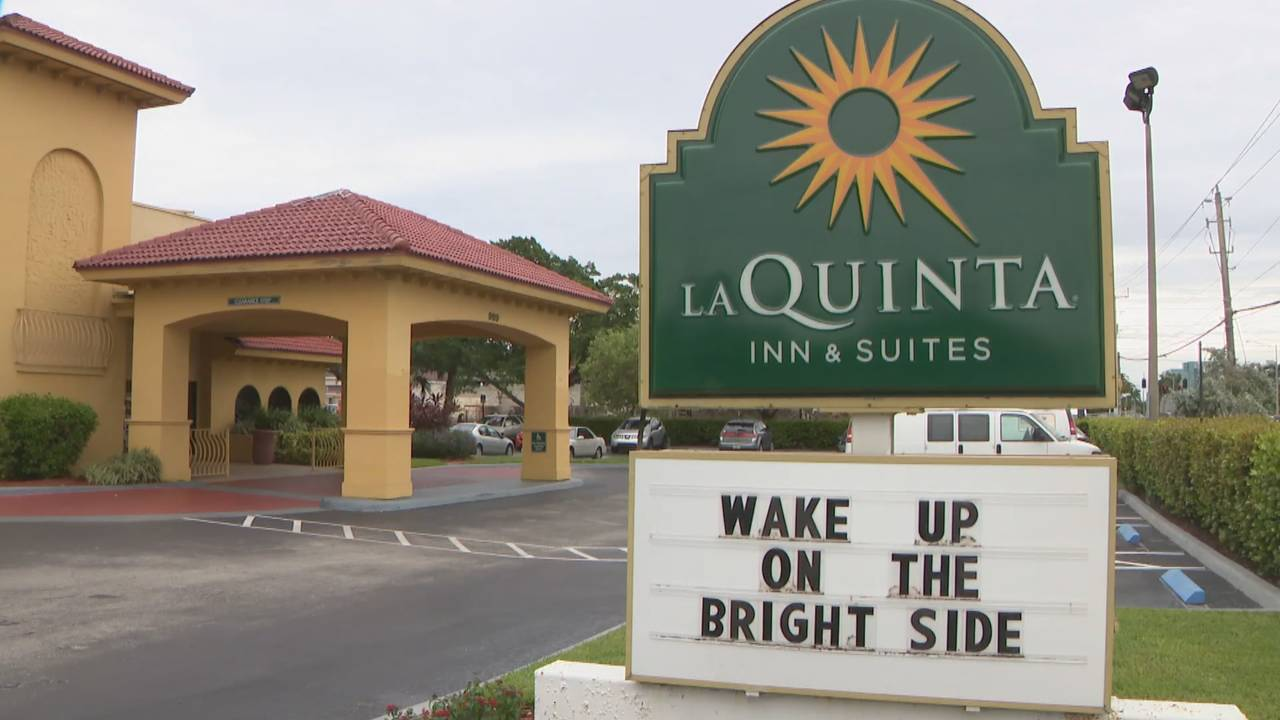 La Quinta hotel scene of Robert Miner human trafficking