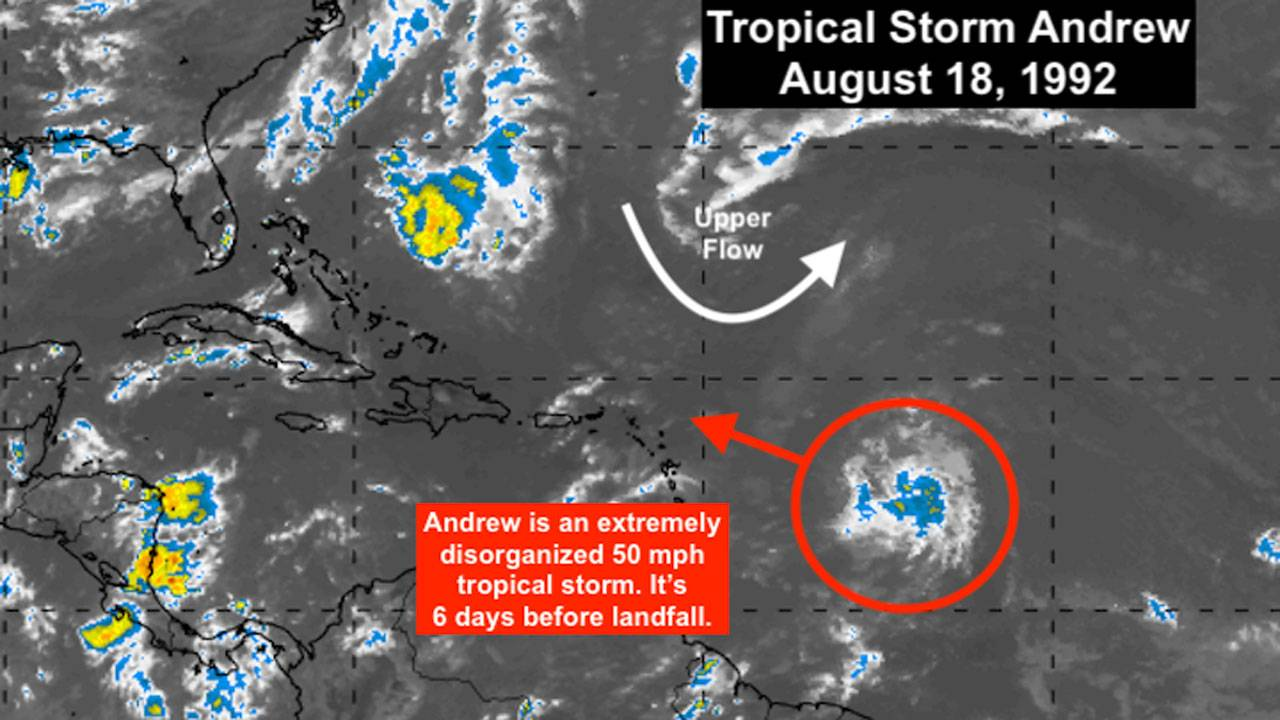 Tropical Storm Andrew Aug 18
