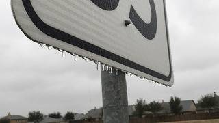 Icy conditions reported on Houston-area roads