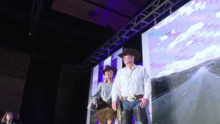 Models, scholarship winners hit runway at cowgirls fashion show