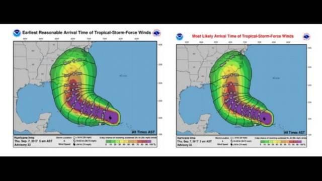 national hurricane center releases new forecast upgrades for. Black Bedroom Furniture Sets. Home Design Ideas
