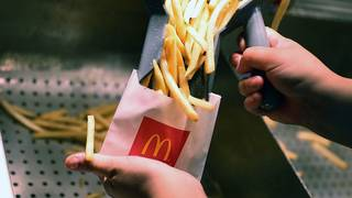 McDonald's is giving away fries for the rest of the year