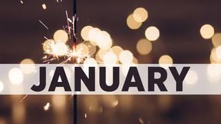 January birthday photos