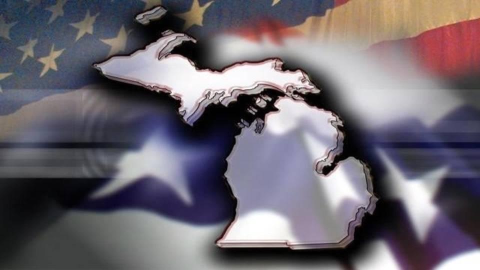 State of Michigan politics background_4694288