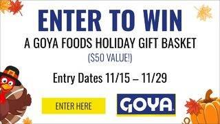 CLICK2WIN: Goya Holiday Gift Basket