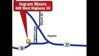 Ingram Moore Football Stadium Map