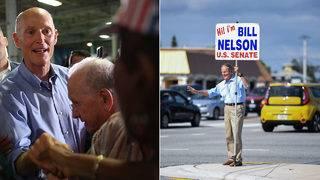Nelson, Scott hustle for votes in final hours of nail-bitter Senate race