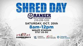 Get ready for the annual KSAT Community event 'Shred Day' Saturday